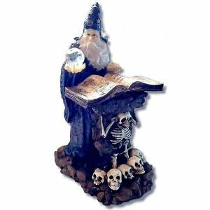 Magic Wizard Statue