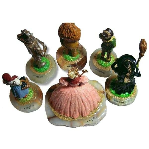 Wizard of Oz Figurines Set back view
