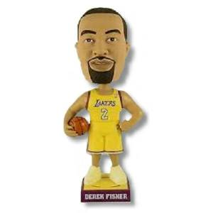 Derek Fisher Lakers Bobblehead