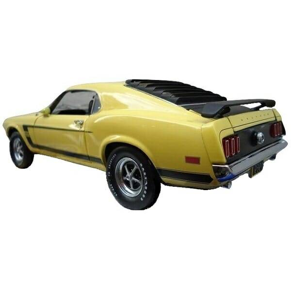 1969 Boss 302 Model rear side view
