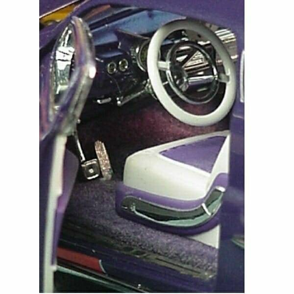 1949 Mercury Hot Rod Set 1:24 scale model interior