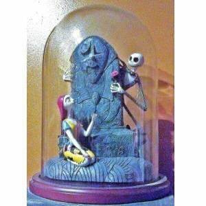 Jack Skellington And Sally Statue