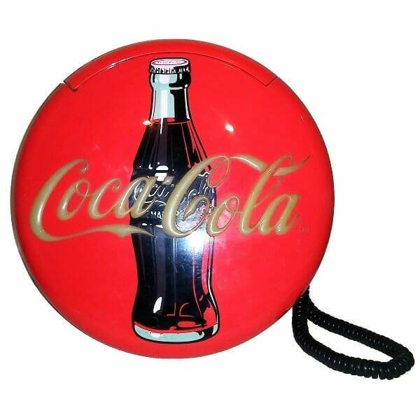 Coca-Cola Disc Telephone