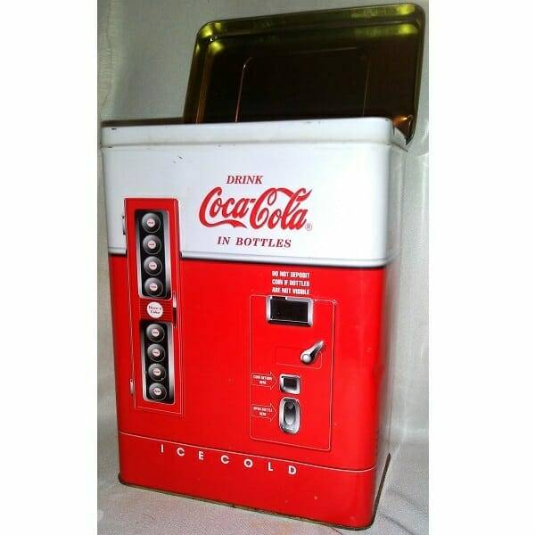 Coke Vending Machine Tin pic 2