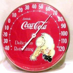 Coke Sprite Boy Thermometer