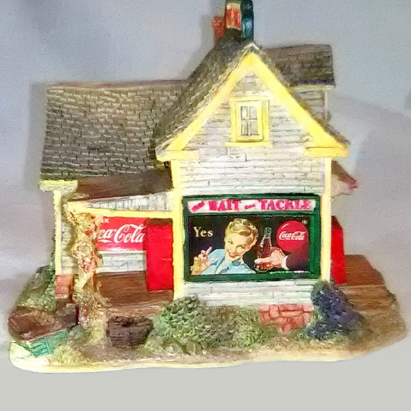 Lilliput Lane Bait and Tackle Shop side 1 view
