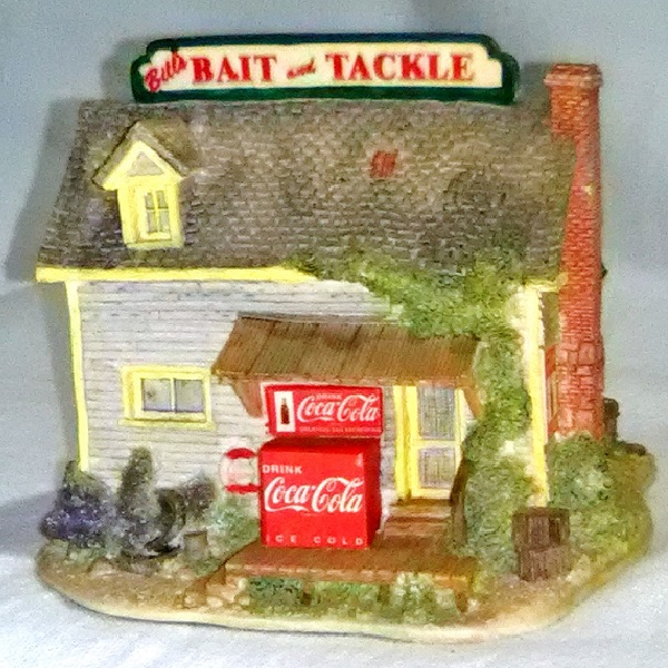 Lilliput Lane Bait and Tackle Shop side 2 view