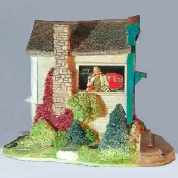 Lilliput Lane Coca-Cola Restaurant side 2 view