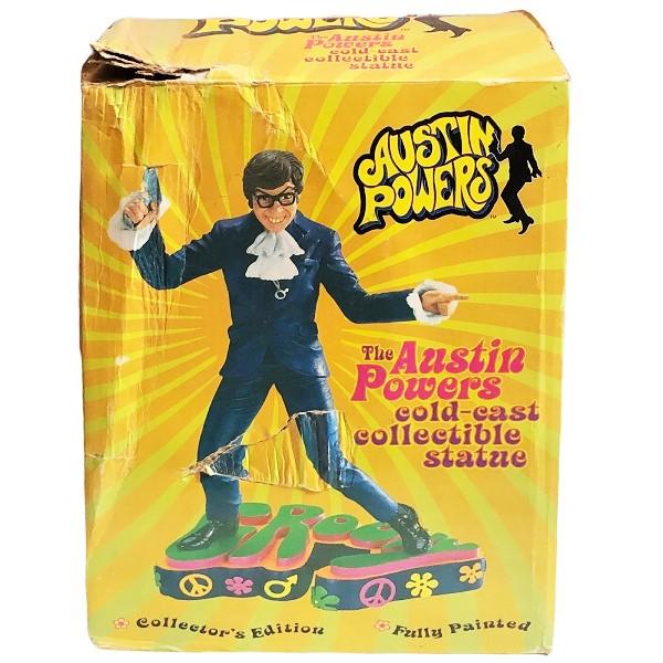 Groovy Austin Powers Statue box