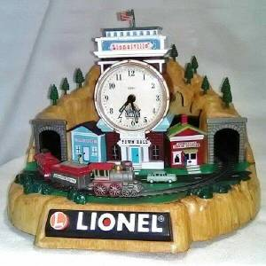 Lionel Trains Desk Clock