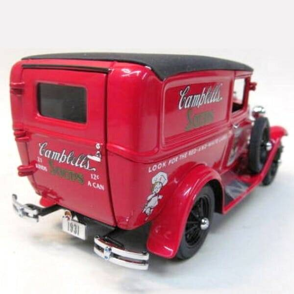 Campbells Soup Panel Truck rear view