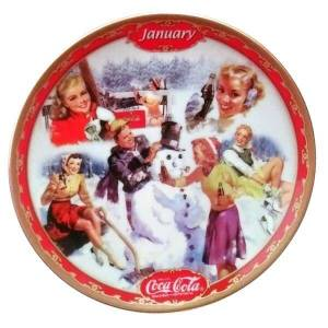 Coca-Cola Days January Plate