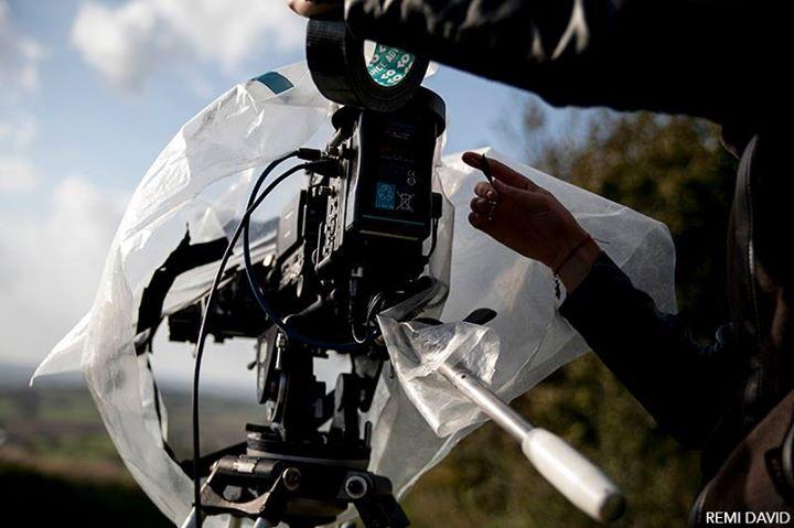 Caméra de cinéma, protection, professionnel