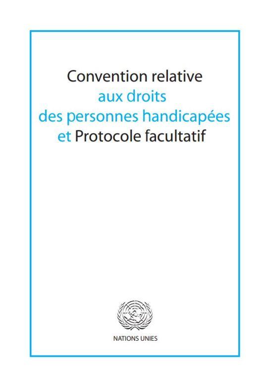 Capture Convention Droits des PH Nations Unies