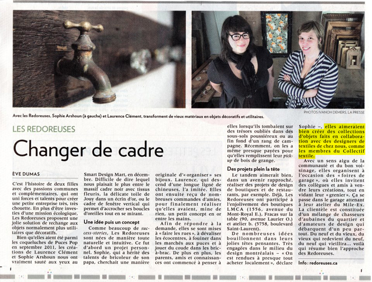 JOURNAL LA PRESSE 2 - CT