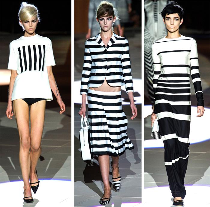 Marc Jacobs - Spring 2013 - Stripes