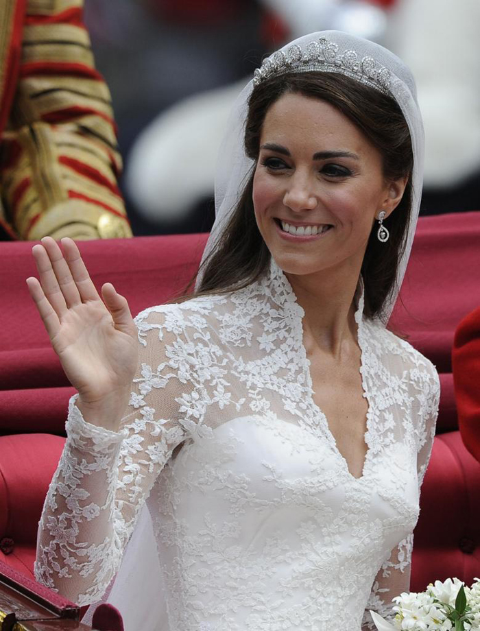 LACEMAKER SOPHIE HALLETTE MAKES THE CUT ON KATE'S WEDDING DRESS