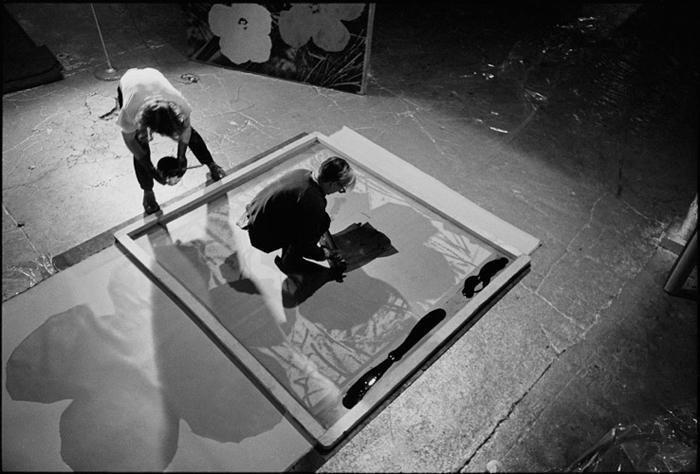 Andy Warhol - Screenprinting - 1