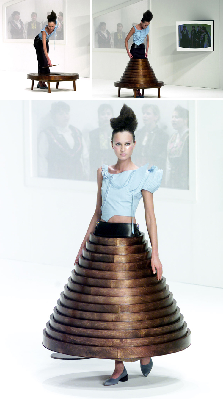 Hussein Chalayan - After Words - Fall 2000