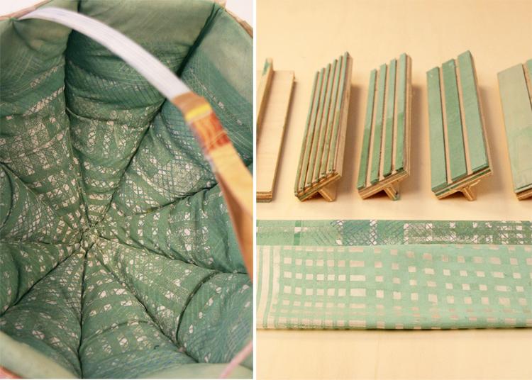 Dienke Dekker - Basket 1 fabric detail