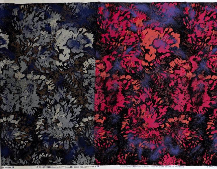 Shirley Craven - Fabric 5 - Le Bosquet - 1959