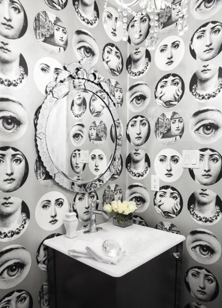 Piero Fornasetti - Wallpaper