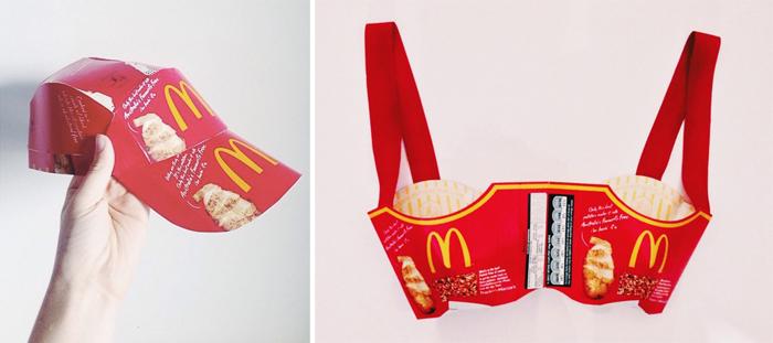 Alexandra Louise Champion Hackett - Fast Food Clothing
