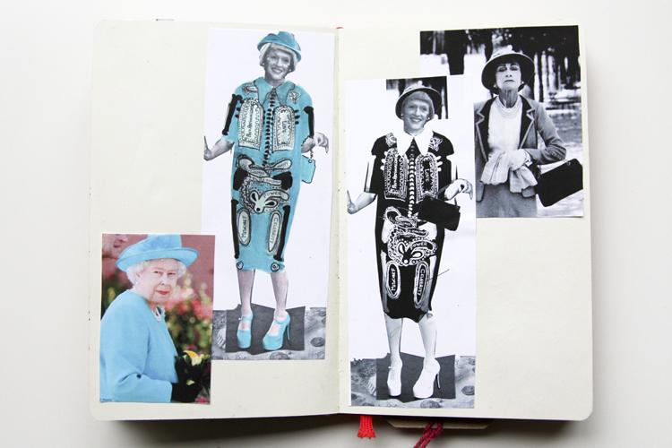 Stefanie Cristofaro - Grayson Perry Competition - Sketchbook