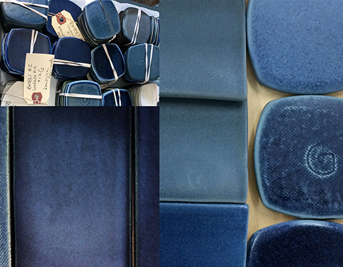 Pascale Girardin - Cobalt - recherche couleur