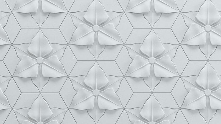 Kaza Concrete - Florentin Tiles - detail
