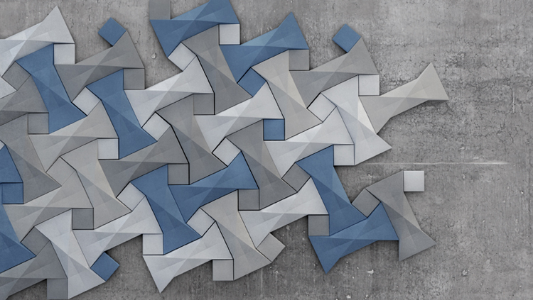 Kaza Concrete - Quadilic Tiles