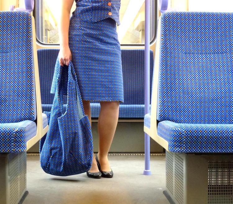Menja Stevenson - U-Bahn S - 2012