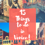 15 Things to do in Venice!