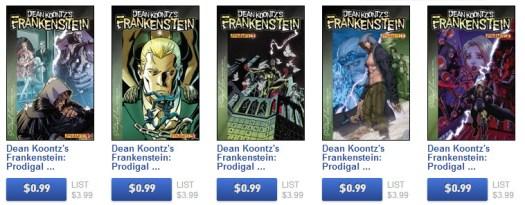 Frankenstein Comics on sale
