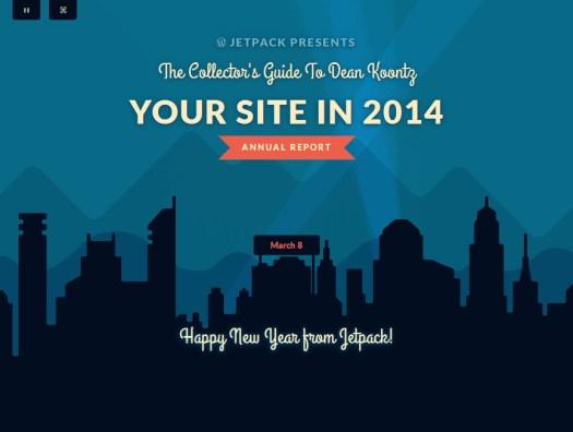 Blogging 2014