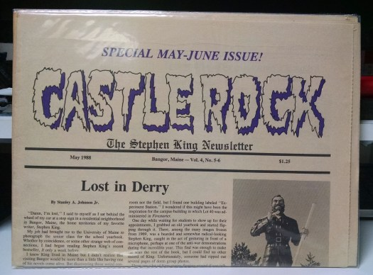 Castle Rock, May 1988, Door to December review, Sudden Fear review, How to Write Tales of Horror... advertisement