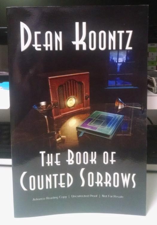 Book of Counted Sorrows B&N ebook ARC