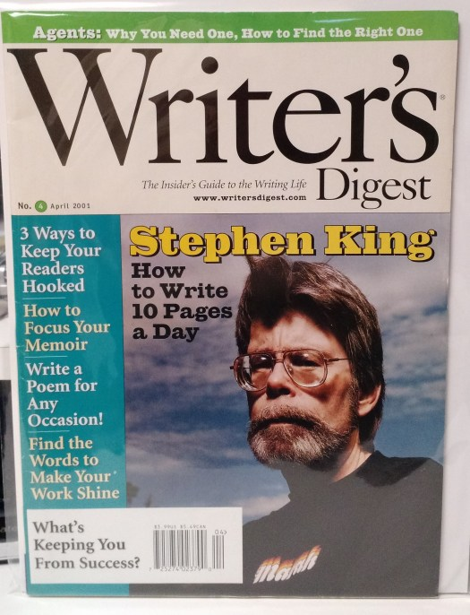 Writer's Digest - April 2001
