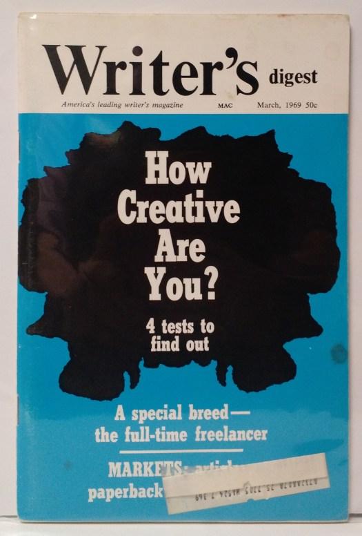 Writer's Digest March 1969