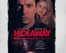 German newspaper ads for the Hideaway film