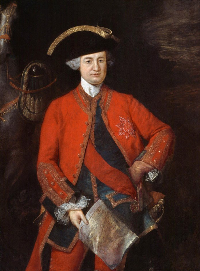 Robert Clive oil painting portrait by Thomas Gainsborough