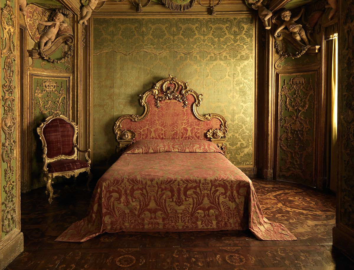 Stuccowork Probably By Abbondio Stazio Bedroom From The