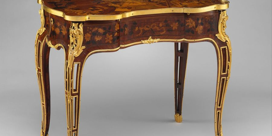 Jean Francois Oeben Mechanical Table French The Me