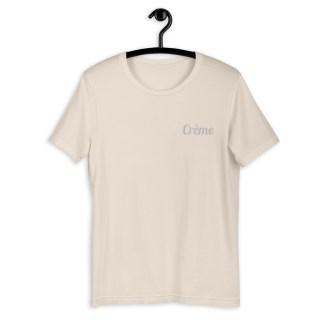 Crème cheval t-shirt