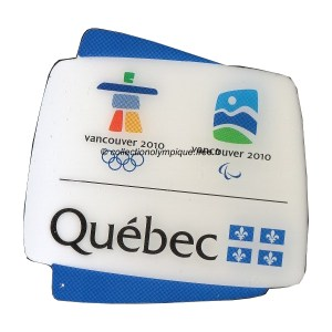 2010 Vancouver pin, province Quebec