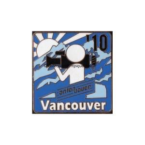 2010 Vancouver media pin, Anton Bauer