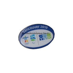 2010 Vancouver sponsor pin, airport YVR