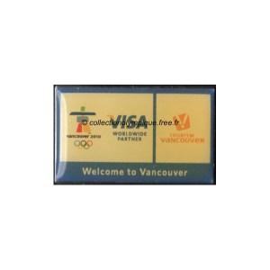 2010 Vancouver sponsor pin, Visa