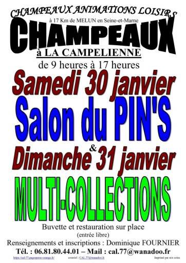 2021 affiche salon Champeaux 2021
