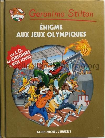 Géronimo Stilton énigme aux Jeux Olympiques